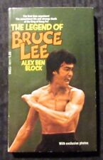 1974 The Legend of BRUCE LEE by Alex Block 1st Dell Paperback VF- w/ Photos
