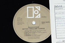RHINOCEROS -Better Times Are Coming- LP 1970 Golden Elektra Archiv-Copy