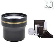 67MM 3.7x Telephoto Zoom Lens for CANON EOS REBEL SONY ALPHA NIKON DSLR CAMERAS