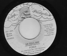 "ska disco POSER ""AH TELL SHE / LOVE AND CARE"" TRINIDAD DANCE FUNK"