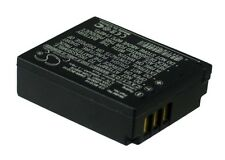 3.7V battery for Panasonic CGA-S007A/1B, Lumix DMC-TZ3EB-K, Lumix DMC-TZ1-S NEW
