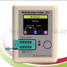 NEW Transistor Tester TFT Diode Triode Capacitance Meter MOSFET LCR ESR NPN PNP