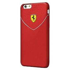 """100%Official Ferrari Racing – TPU Case – Red for iPhone 6/6S 4.7"""""""