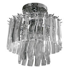 Catania Acrylic Pendant Chrome Ceiling Light Lighting Shade Chandelier Fitting