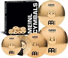 Meinl Cymbals CC-141620+18 Classics Custom Bonus Pack Cymbal Box Set with FREE 1