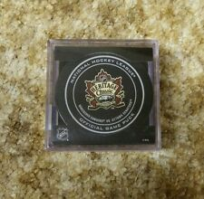 2014 HERITAGE CLASSIC GAME PUCK VANCOUVER CANUCKS OTTAWA SENATORS ~ NEW