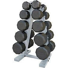CAP Barbell 150 lbs Eco Dumbbell Weight Set with Rack Sport Workout Gym New