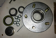 "Boat Trailer Galvanized Hub kit 5 Bolt  with Bearings 1 1/16x1 3/8"" 1750lb EACH"