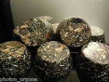 24 Orgone Energy 23k Gold Towerbusters Radiation EMF Protector Shungite Pyrite