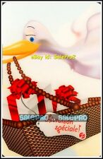 ZELLERS DUCK FLYING WITH THE PRESENT BASKET RARE RETIRED COLLECTIBLE GIFT CARD