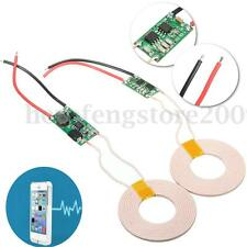 12V Wireless Charger Module 5V Power Supply Coil Transmitter Receiver For Phone
