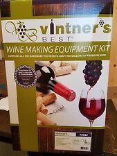 Vintner's Best Wine Making Equipment Kit with Glass carboy Home Brew