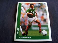 Figurina Ds Sticker France 98 n°231 ALBERTO COYOTE MEXICO World Cup