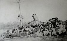 Imperial German Navy Dresden Light Cruiser SMS Emden World War 1 1914, 7x4 Photo