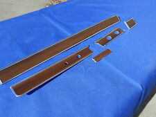 NEW 1965 66 Chevrolet Chevy Impala BelAir Woodgrain Dash Trim Molding Set