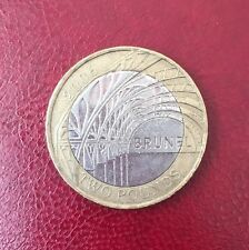 2 two pounds commemorative coin £2 Paddington Station Brunel rare 2006