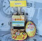 SWATCH limited edition GZ128 1993 EGGSDREAM NUOVO con scatola e pasta all'uovo