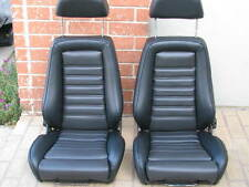 RECARO SEATS KIT E21 E10 320IS (2) UPHOLSTERY KIT GERMAN VINYL BEAUTIFUL