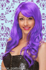 Sexy Katy Perry Purple Hair Cosplay Heat Resistant Party Costume Wig