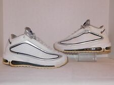 2010 NIKE AIR MAX GRIFFEY GD 2 II MARINERS WHITE GREY BLACK 395317-100 MENS 8