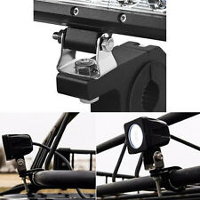 Universal Offroad ATV Led Work Light Bull Bar Mount Bracket Tube Clamps Holder