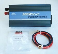 500W 12V to 230V Pure Sine Wave Power Inverter with USB Connection