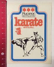 Pegatina/sticker: Rucanor sporting goods-karate matsuru (110316168)