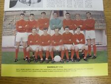 1967/1968 Football League Review: Vol 2 No 27 - Colour Picture - Barnsley [Old H