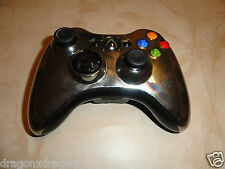 ORIGINALE MICROSOFT XBOX 360 Wireless Chrome Silver Argento Edition Controller
