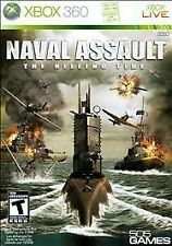 Naval Assault: The Killing Tide (Xbox 360) Complete TESTED Free Shipping