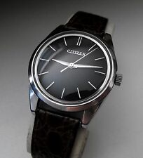 VINTAGE CITIZEN PARAWATER 21 JEWEL STAINLESS STEEL GENTS WRISTWATCH