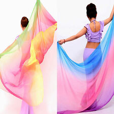 "77""x42""  Belly Dance Veil Scarf Shawl"