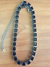 39SS EMPTY CUP CHAIN NECKLACE - ANTIQUE SILVER - NICKEL FREE - NEW