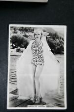 Harriett Haddon   Hollywood Star  1930's Vintage Glamour Photo Card