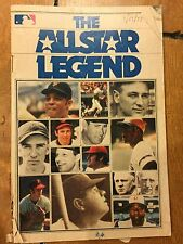1977 THE ALL STAR LEGEND PAMPHLET