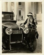 Delage Car Auto Photo 1920 Gal Drinking Booze Flappers Prohibition Jazz NYC
