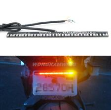 Motorcycle ATV Scooter Tail Brake Stop Turn Signal Integrated LED Light Strip