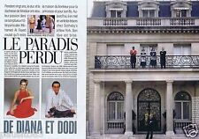 Coupure de presse Clipping 1998 Diana & Dodi  (10 pages)