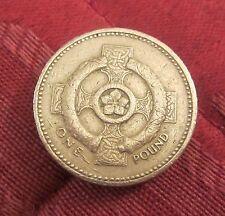 Rara Edición Especial - 1996 £ 1 Monedas Irlanda del Norte-Cruz Celta
