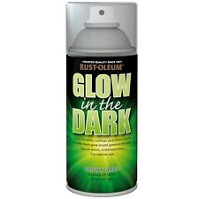Rust-Oleum Glow In The Dark Bright Green Glowing Aerosol Spray Paint - 150ml