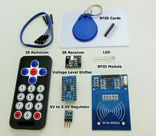Arduino Modules RFID, IR Remocon, TXB0108, 5V to 3.3V Regulator from CANADA