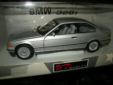 1:18 UT BMW 328 E36 Coupe 1992 silber/silver Nr. 180023321 SELTEN OVP