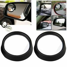 2PCS Car Adjustable Rearview Blind Spot Side Rear View Convex Wide Angle Mirror