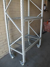 Heavy Duty Cool Room Shelving on Castors