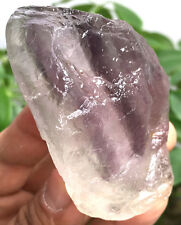 257g Rare Natural Purple Fluorite Quartz Crystal Rough Stone Specimens ic2100