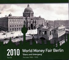 SERIE EURO BRILLANT UNIVERSEL (BU) - PAYS-BAS 2010 WORLD MONEY FAIR