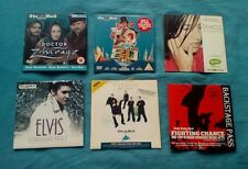 Miscellaneous CDs and DVDs - Westlife / Elvis / Texas / Backstage / Zhivago/ 80