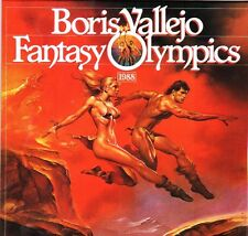 BORIS VALLEJO 1988 CALENDAR  FANTASY OLYMPICS .  Dates match 2016