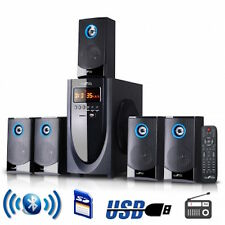 NEW BeFREE 5.1 Channel Surround Sound Speaker System With SD/USB/Bluetooth NEW