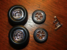 Vintage Style Funny Car, Gasser, Hot Rod Mag Wheels and Tires   (HIFC)